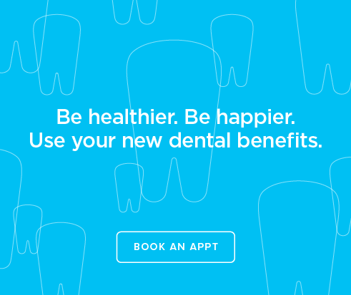 Be Heathier, Be Happier. Use your new dental benefits. - Lexington Modern Dentistry